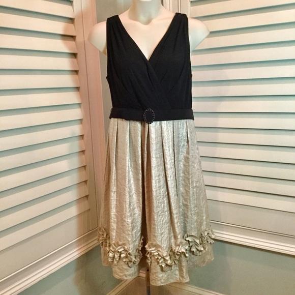 SALE! Platinum   Black Semi Formal Dress 16W. M 5b7353607c979d2d6884ee47 153eaa0d3